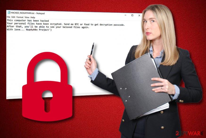 Nog4yH4n ransomware virus