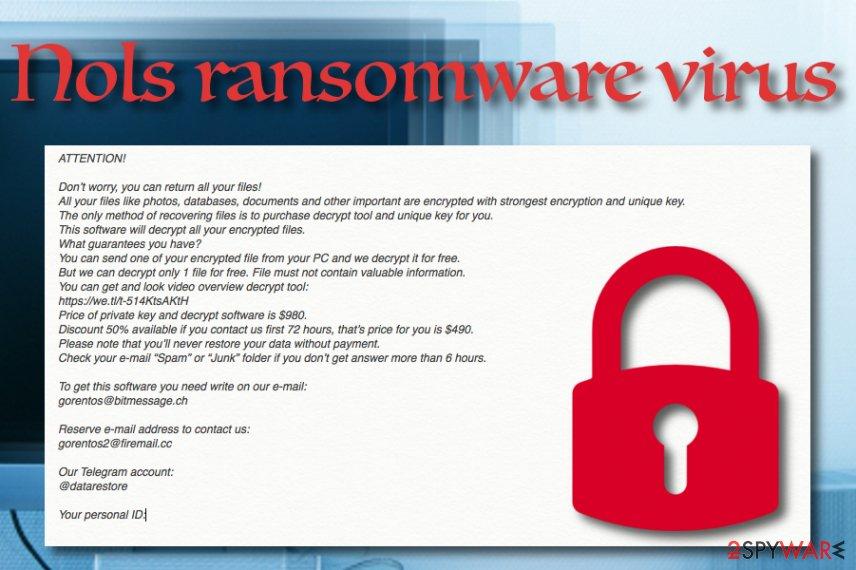 Nols ransomware virus