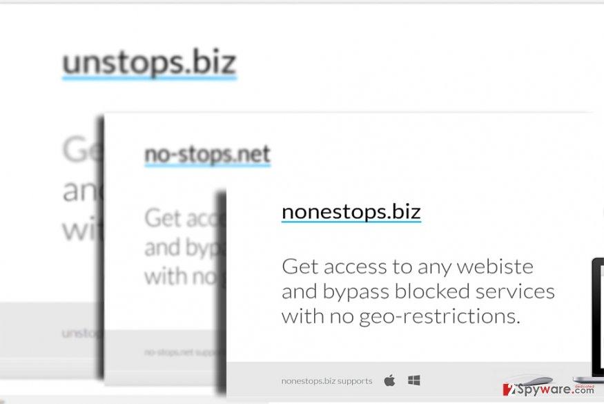 The image of nonestops.biz