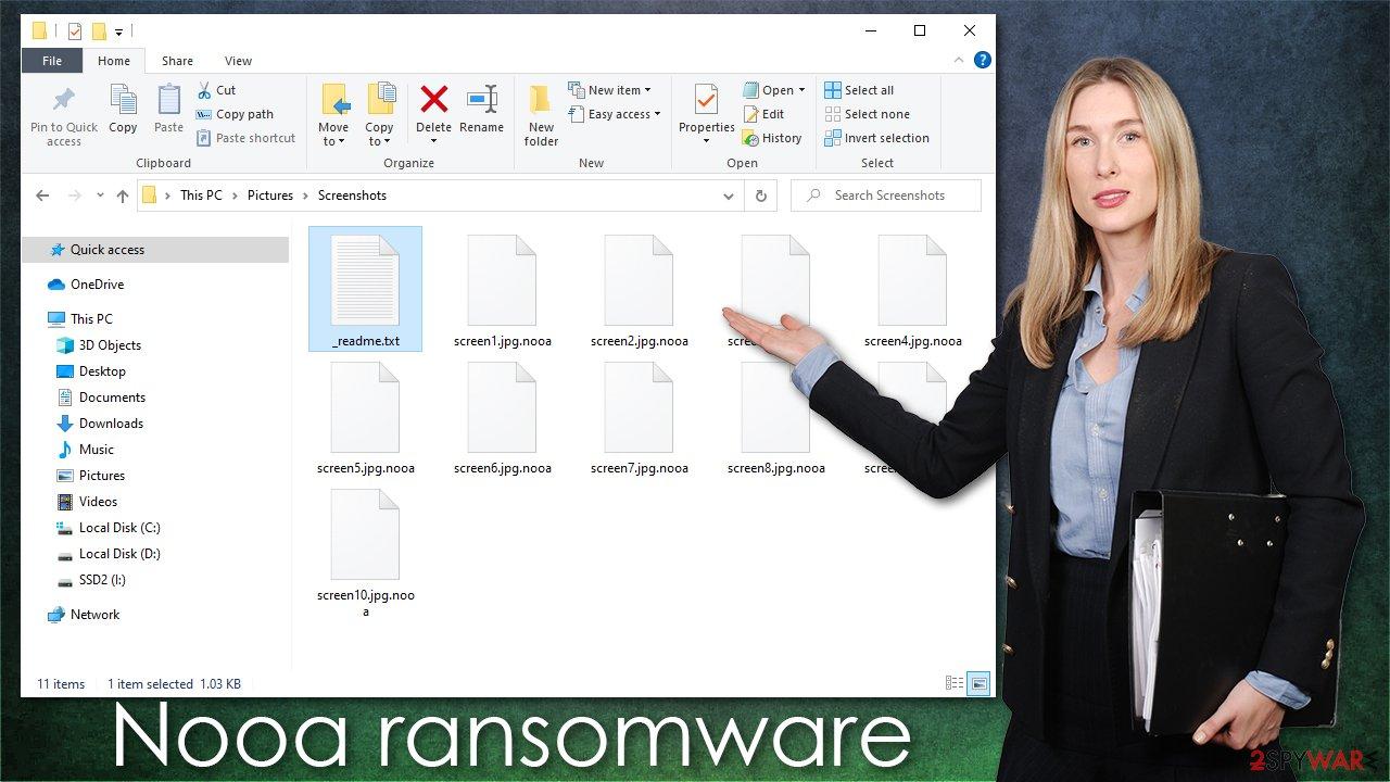 Nooa ransomware virus