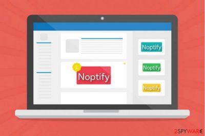 Noptify virus image