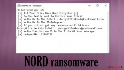 NORD ransomware