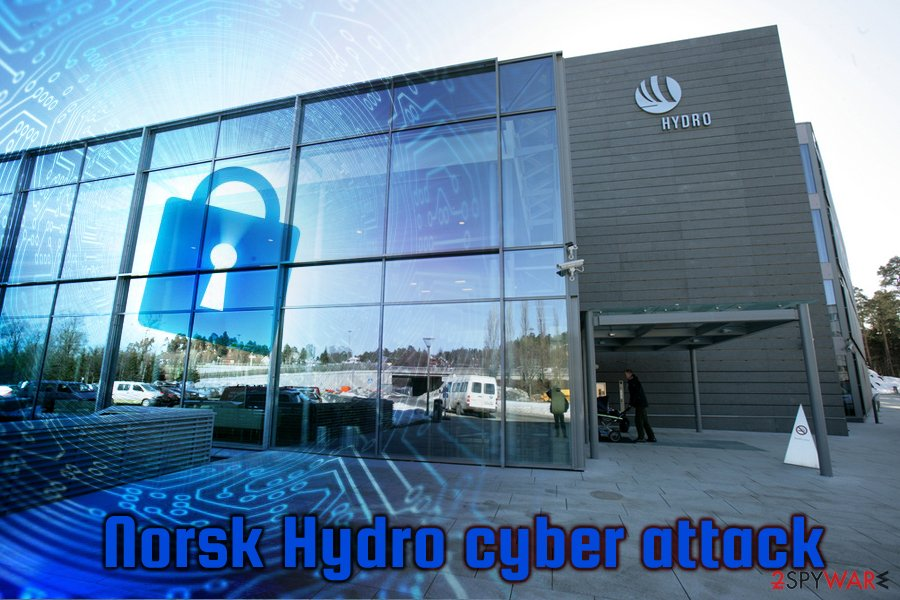 LockerGoga attack on Norsk Hydro