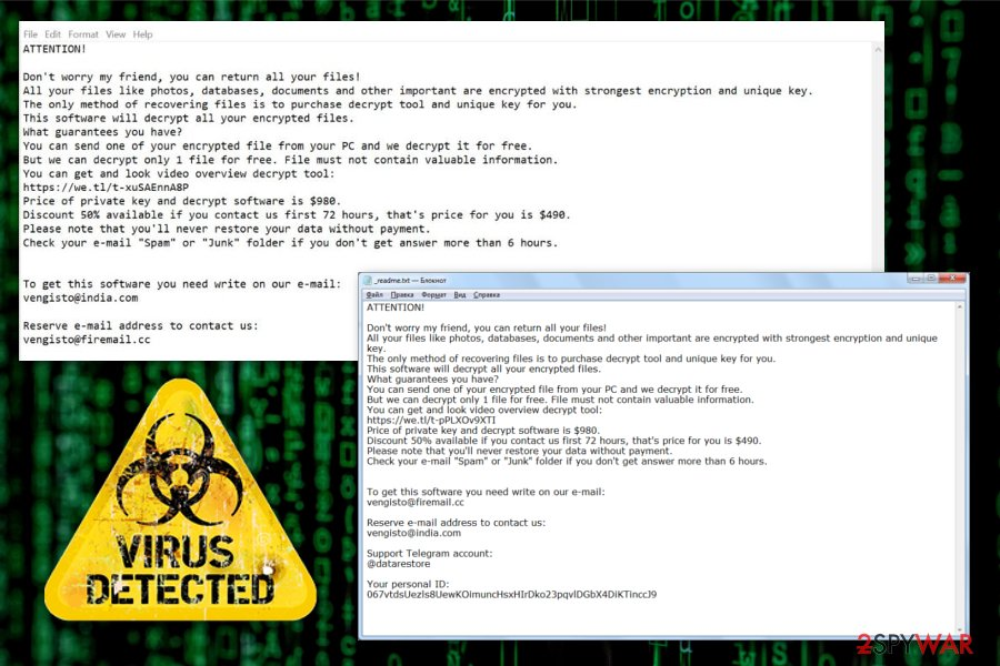 Norvas ransomware