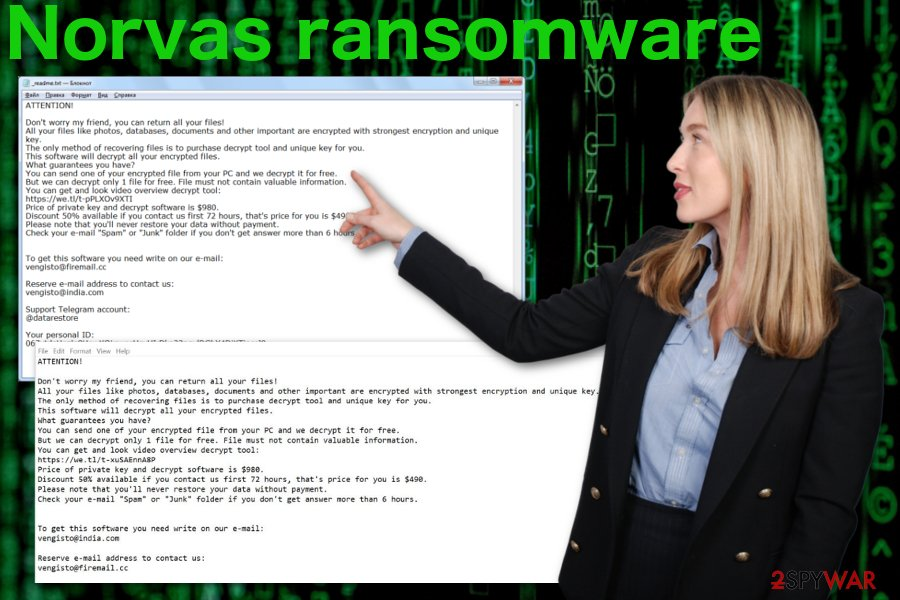 Norvas ransomware