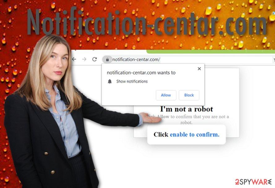 Notification-centar.com virus
