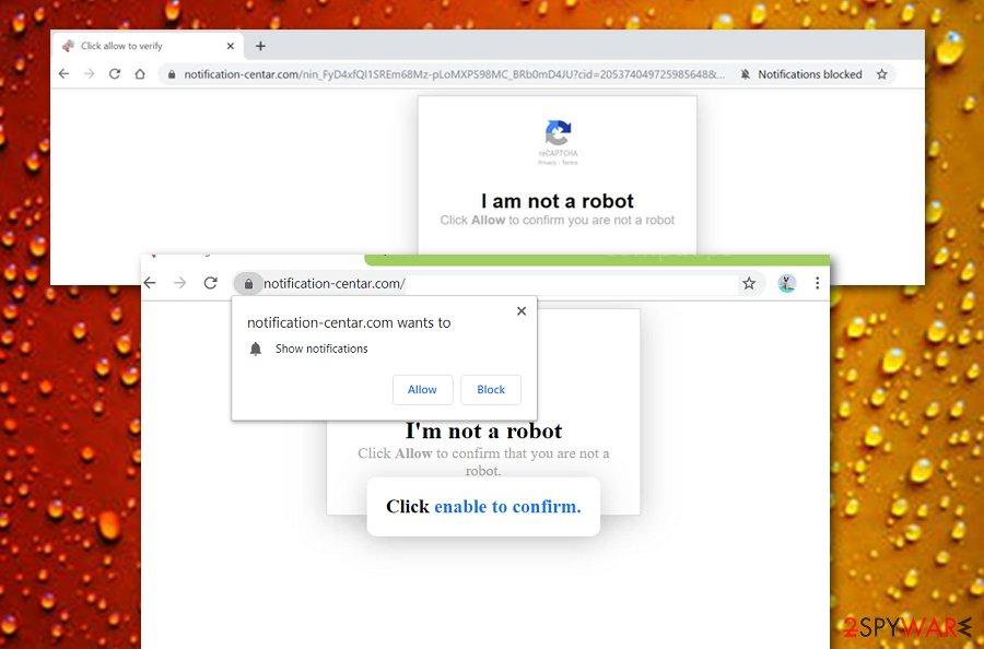 Notification-centar.com rogue app