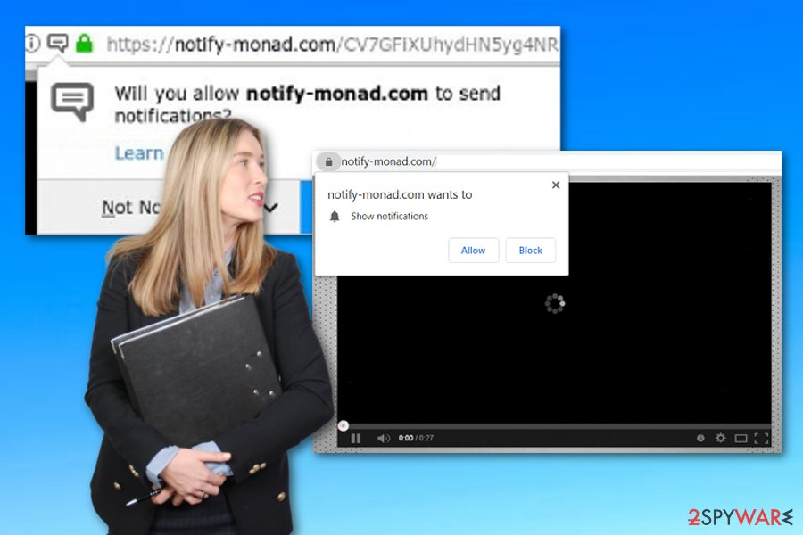 Notify-monad.com virus