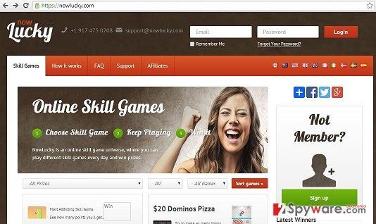 Nowlucly.com ads snapshot