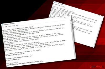 Nppp ransomware virus