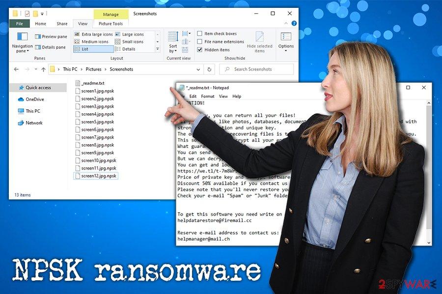 NPSK ransomware virus