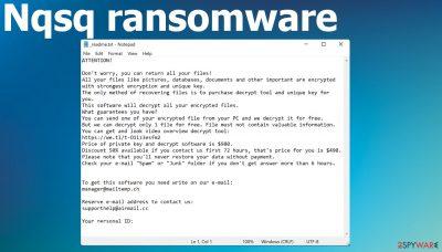 Nqsq ransomware