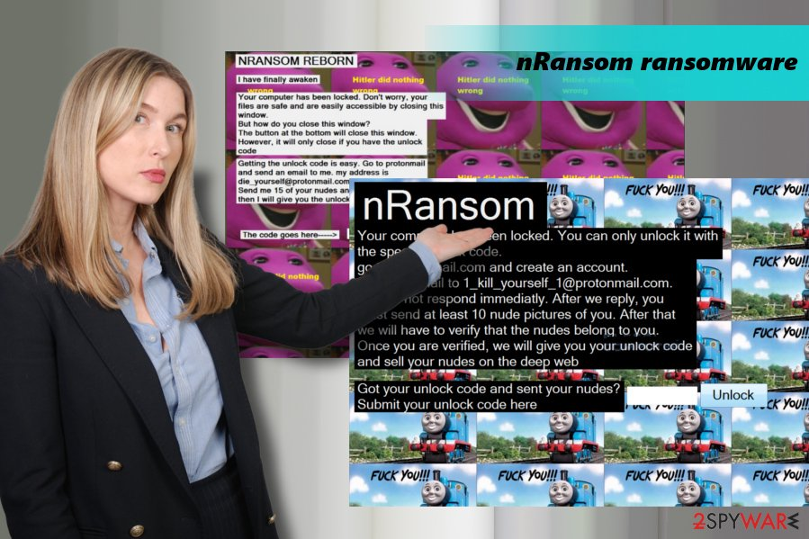 nRansom ransomware demands to send nudes