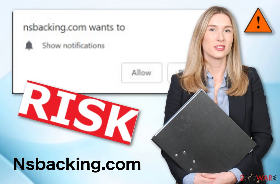 Nsbacking.com potentially unwanted software