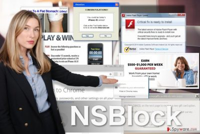 Image of NSBlock adware virus