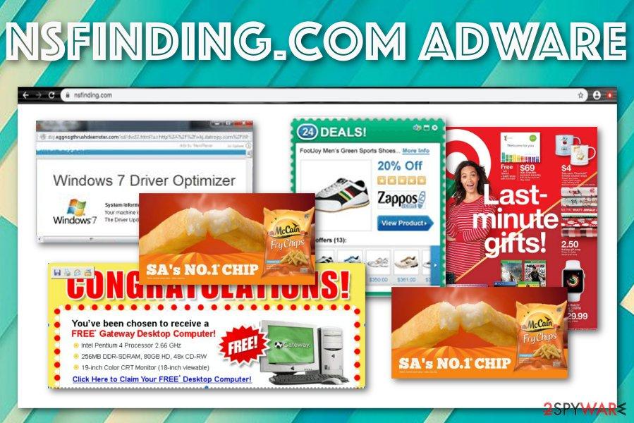 Nsfinding.com adware