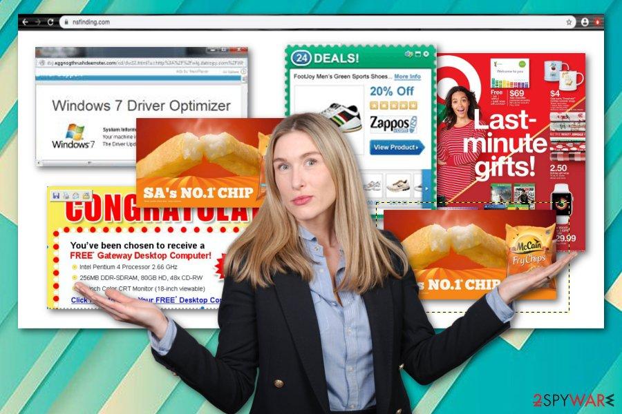 Nsfinding.com virus