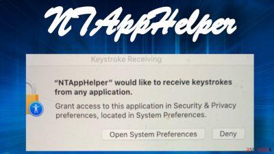 NTAppHelper virus