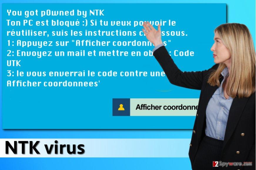 NTK ransomware virus