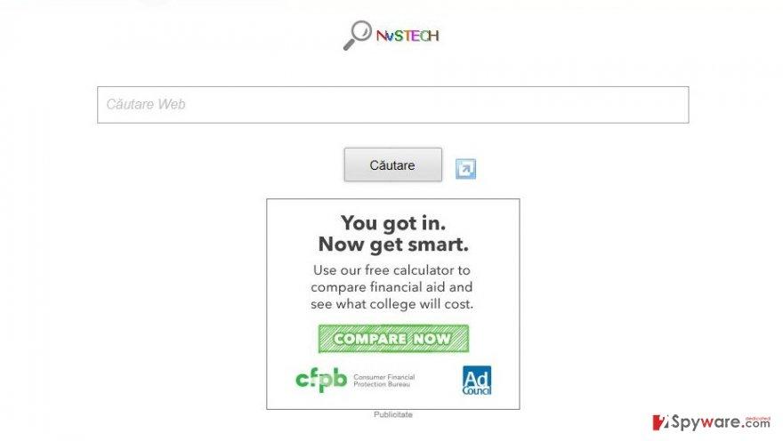 NvSTECH Toolbar snapshot