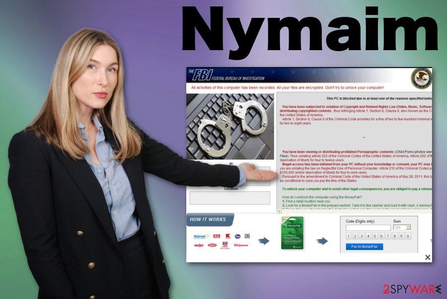 Nymaim ransomware