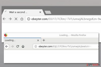 Obeyter.com redirect example