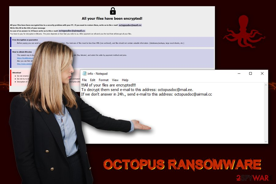 Octopus ransomware virus