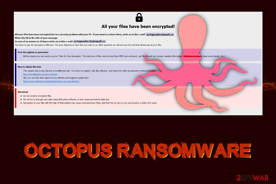 Octopus ransomware