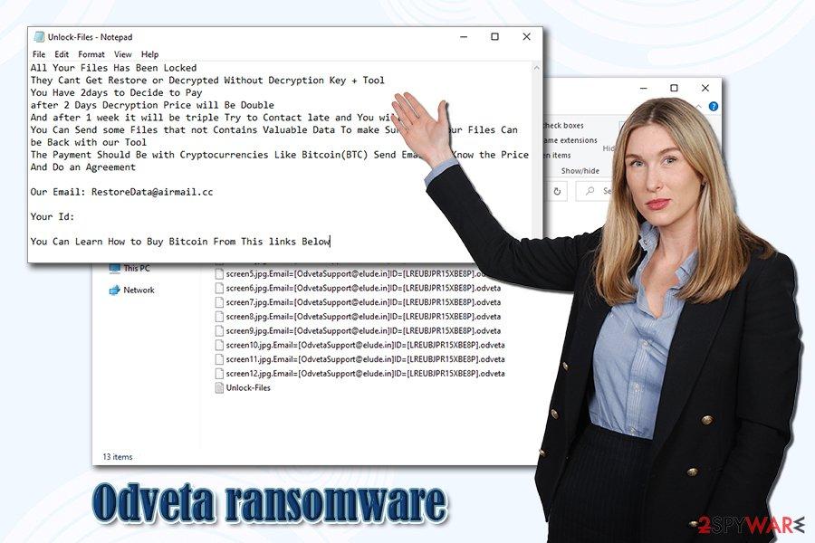 Odveta ransomware virus