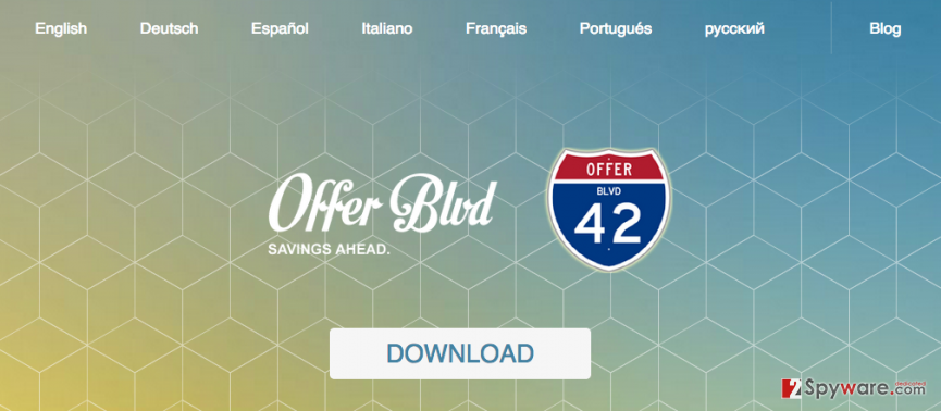 Offer Boulevard ads snapshot