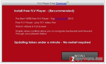 OfficialInternetUpgrades.net virus snapshot