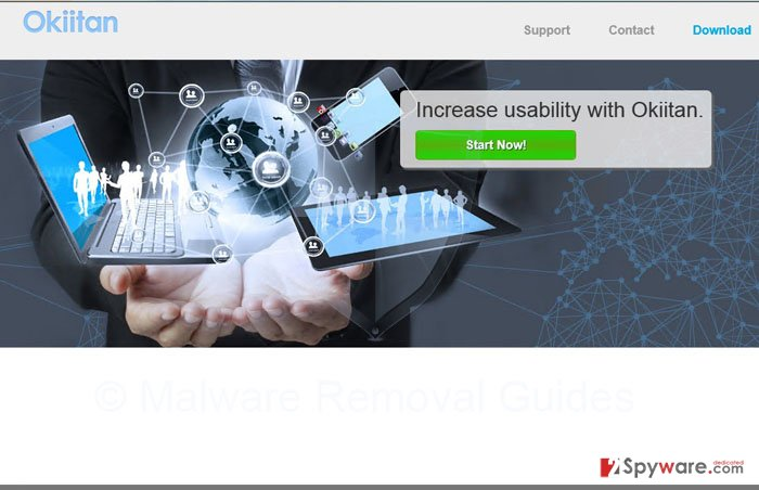 Okiitan Deals and Okiitan Ads snapshot