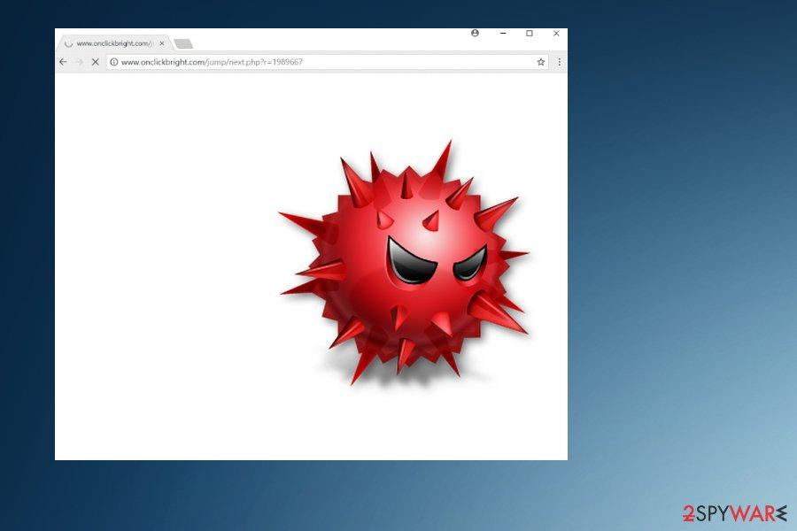 Onclickbright.com virus