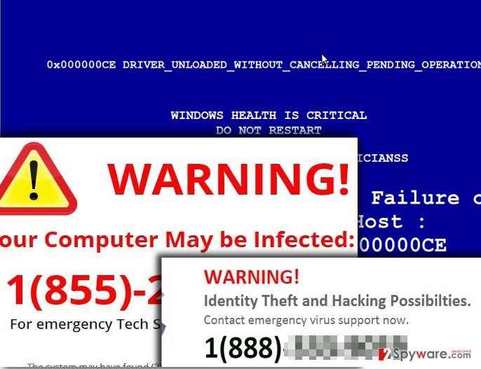 One Click PC Cleaner virus sends pushy alerts