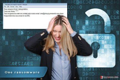 One ransomware virus