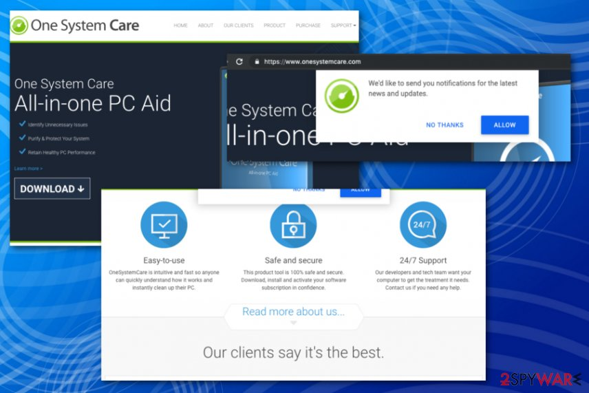 One SystemCare tool