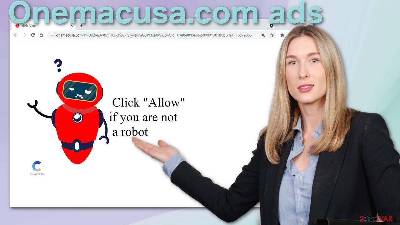 Onemacusa.com ads