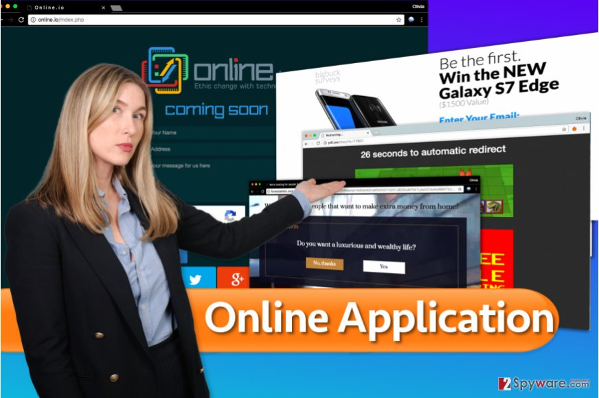 Online Application virus