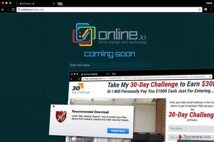 Online Application ads