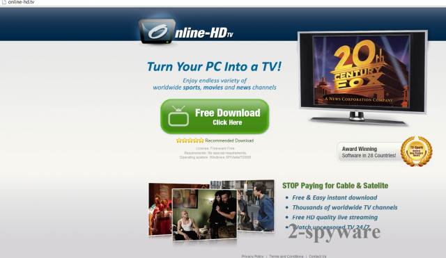 Online HD TV