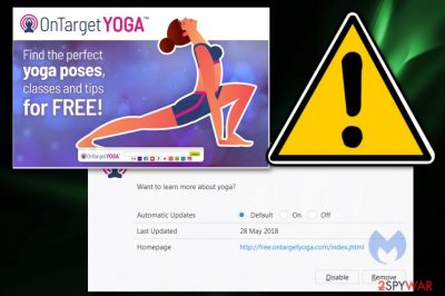 OnTargetYoga browser hijacker