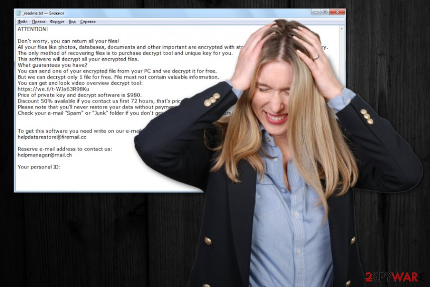 Ooss ransomware virus
