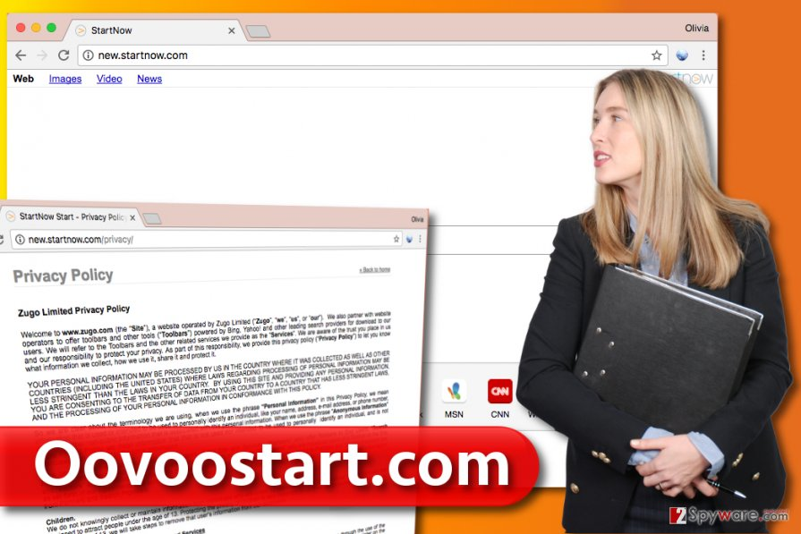 Oovoostart.com redirect virus