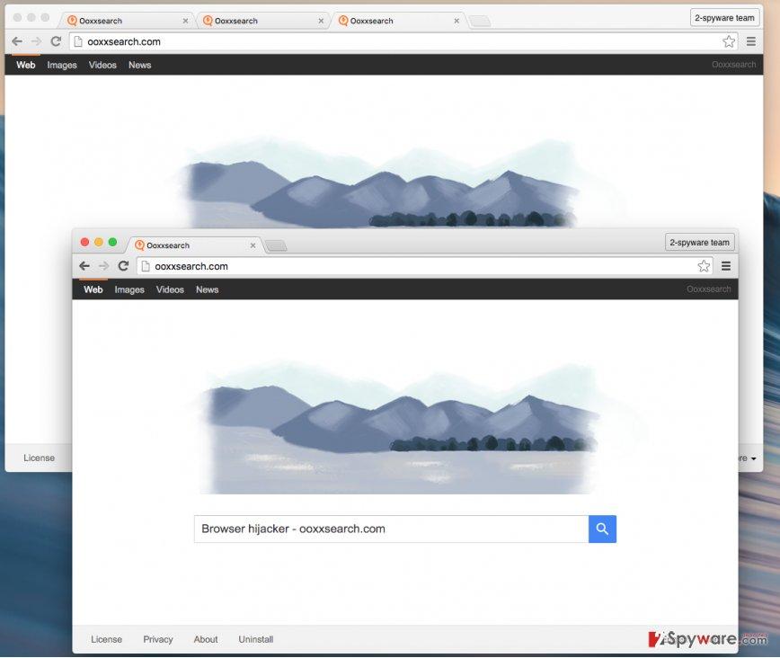 Ooxxsearch.com virus