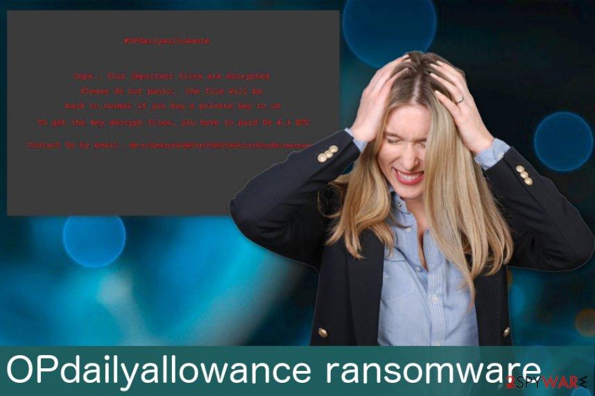 OPdailyallowance ransomware virus