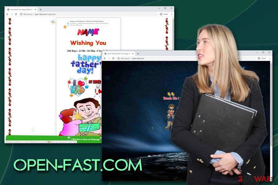 Open-fast.com virus