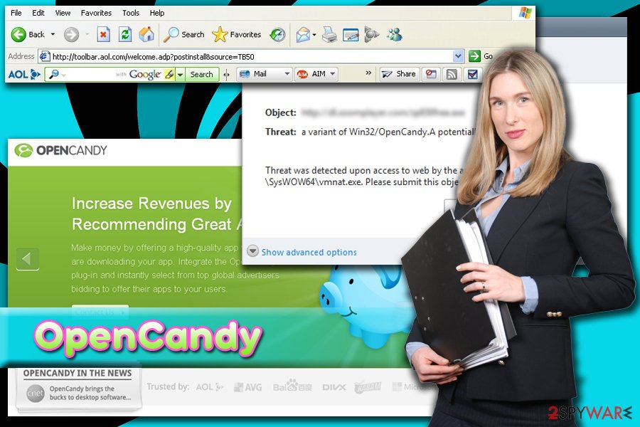 OpenCandy unwanted program