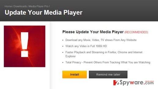 Opensoftwaredownload.com pop-up ads snapshot