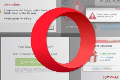 Opera redirect virus