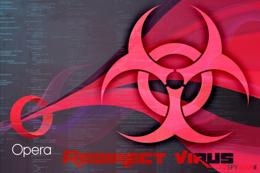 Opera redirect malware